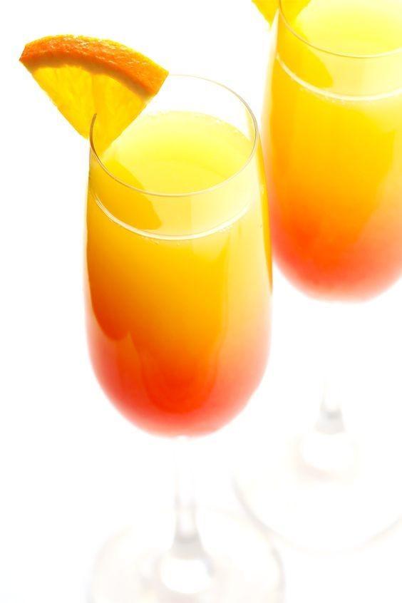 菠蘿漸層雞尾酒