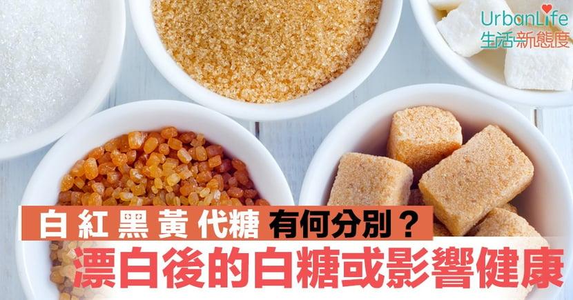 【五大糖份】糖為何有這麼多種?分析白、紅、黑、黃、代糖的好與壞