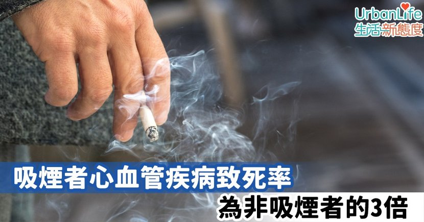 【煙民注意】研究:吸煙者心血管疾病致死率為非吸煙者的3倍