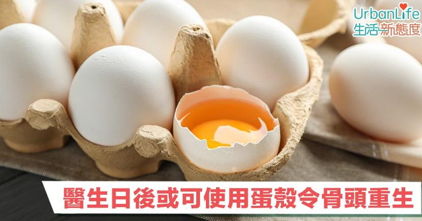【可持續發展】蛋殼都有用?醫生日後或可使用蛋殼令骨頭重生