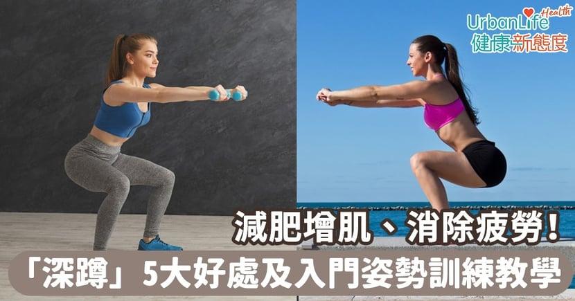 【深蹲好處】減肥增肌、消除疲勞!深蹲5大好處及入門姿勢訓練教學