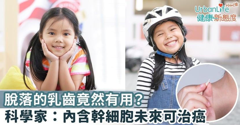 【小朋友換牙】脫落的乳齒竟然有用?美國科學家:內含幹細胞未來可治癌