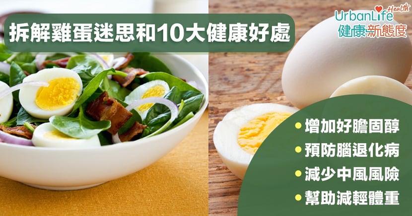 【雞蛋益處】雞蛋吃太多會膽固醇過高?一文拆解雞蛋迷思和10大健康好處