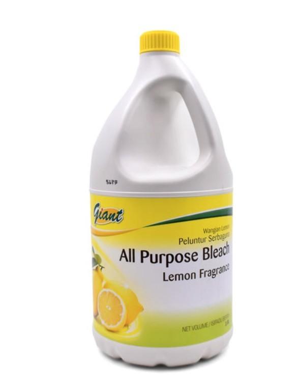 Giant All Purpose Household Bleach 漂白水。