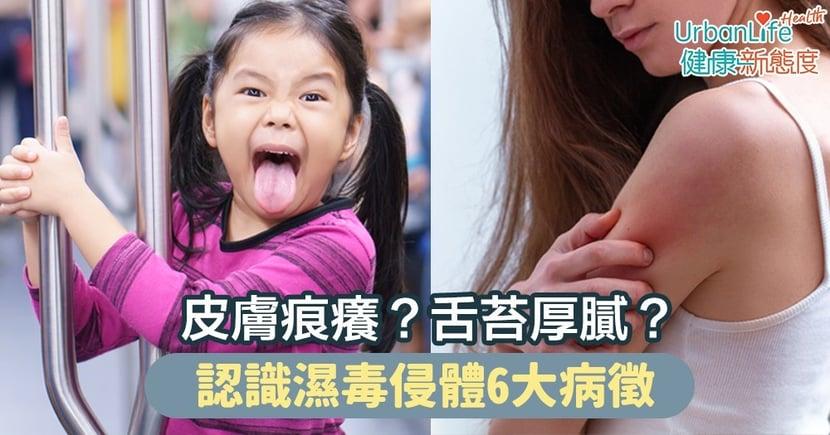 【濕毒症狀】皮膚痕癢?舌苔厚膩?認識濕毒侵體6大病徵