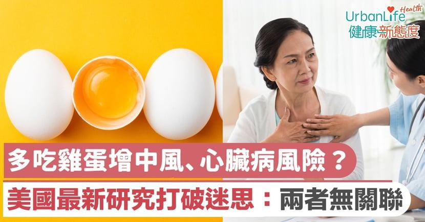 【心臟病成因】多吃雞蛋增中風、心臟病風險?美國最新研究打破迷思:兩者無關聯