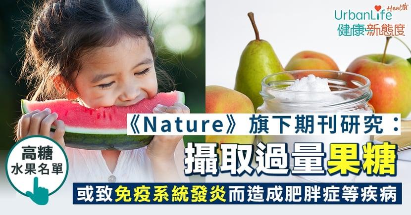 【果糖壞處】《Nature》旗下期刊研究:攝取過量果糖 或導致免疫系統發炎