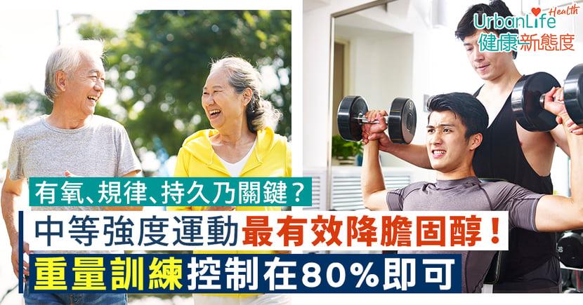【降膽固醇運動】有氧、規律、持久乃關鍵?中等強度有氧運動、重量訓練最有效!